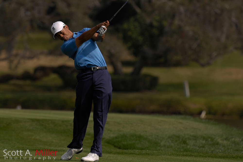 Tiger Woods in action during the Arnold Palmer Invitational at Bay Hill Club and Lodge on March 14, 2007 in Orlando, Florida...© 2007 Scott A. Miller