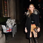 Natalia Kapchuk attend Travel bag brand hosts the launch of its exclusive luxury collection of handbags in collaboration with model and designer Anastasiia Masiutkina  D'Ambrosio on 26 March 2019, Caviar House & Prunier 161 Piccadilly, London, UK.