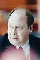 Herr Helge Braun, Kanzleramtsminister, bzw. Chef des Bundeskanzleramts am 21. Juni 2018 in Berlin Mitte in seinem Büro im Bundeskanzleramt