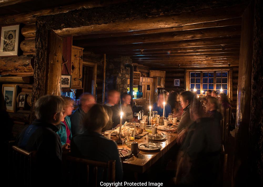 Skoki Lodge., Alberta, Canada, Isobel Springett