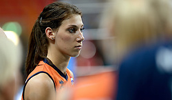 25-09-2014 ITA: World Championship Volleyball Nederland - USA, Verona<br /> Nederland verliest met 3-0 van team USA / Robin de Kruijf