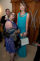 Margherita Londi, Rahoon,  Laura Kelly NUIG at the Ability West Best Buddy Ball and award night at the Menlo Park Hotel Galway. Photo:Andrew Downes.