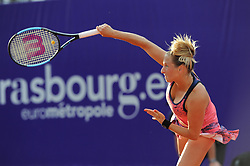 May 22, 2018 - France - Internationaux de tennis de Strasbourg -  Reka Luca Jani Hongrie (Credit Image: © Panoramic via ZUMA Press)