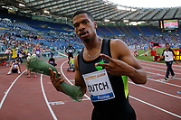 Johnny DUTCH USA 400Hs <br /> Roma 04-06-2015 Stadio Olimpico<br /> IAAF Diamond League 2015 Rome<br /> Golden Gala Meeting - Track And Field Athletics Meeting<br /> Foto Sebastian Seglingen / ARK / Insidefoto