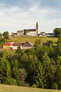 Schwarzenberg, Mühlviertel, Böhmerwald, Niederösterreich, Österreich   Schwarzenberg, Muehlviertel, Bohemian Forest, Austria