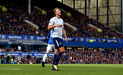 Harry Kane of Tottenham Hotspur cuts a frustrated figure - Mandatory by-line: Robbie Stephenson/JMP - 09/09/2017 - FOOTBALL - Goodison Park - Liverpool, England - Everton v Tottenham Hotspur - Premier League