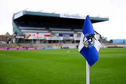 General view of a corner flag prior to kick off - Mandatory by-line: Ryan Hiscott/JMP - 29/02/2020 - FOOTBALL - Memorial Stadium - Bristol, England - Bristol Rovers v Shrewsbury Town - Sky Bet League One