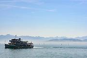 Schiff, Friedrichshafen, Bodensee, Baden-Württemberg, Deutschland