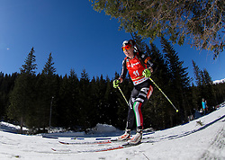 WIERER Dorothea of Italy competes during Women 12.5 km Mass Start competition of the e.on IBU Biathlon World Cup on Sunday, March 9, 2014 in Pokljuka, Slovenia. Photo by Vid Ponikvar / Sportida