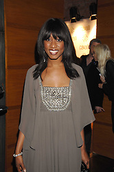 BEVERLEY KNIGHT at a party to celebrate the launch of Cavalli Selection - the first ever wine from Casa Cavalli, held at 17 Berkeley Street, London W1 on 29th May 2008.<br /><br />NON EXCLUSIVE - WORLD RIGHTS