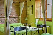 Le Santucce photo shoot bedroom, Tuscany, Italy