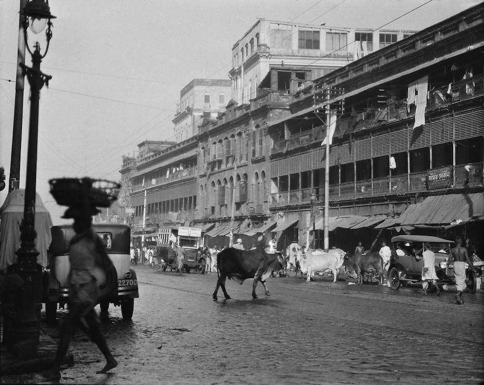 Harrison Road, Calcutta, India, 1929