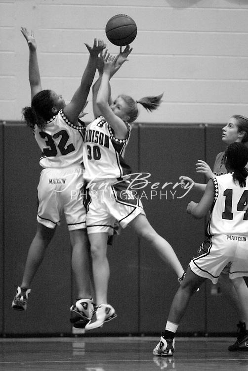 MCHS Varsity Girls Basketball..vs Orange..Second Period..December 18, 2004