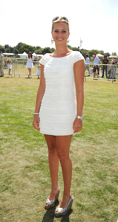 HOLLY BRANSON at the Cartier International Polo at Guards Polo Club, Windsor Great Park on 27th July 2008.<br /> <br /> NON EXCLUSIVE - WORLD RIGHTS