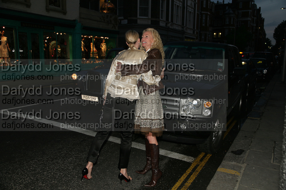 Mortimer and Gail Lawson, PJ's Annual Polo Party . Annual Pre-Polo party that celebrates the start of the 2007 Polo season.  PJ's Bar &amp; Grill, 52 Fulham Road, London, SW3. 14 May 2007. <br /> -DO NOT ARCHIVE-&copy; Copyright Photograph by Dafydd Jones. 248 Clapham Rd. London SW9 0PZ. Tel 0207 820 0771. www.dafjones.com.