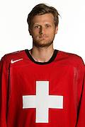 31.07.2013; Wetzikon; Eishockey - Portrait Nationalmannschaft; Patrick von Gunten (Valeriano Di Domenico/freshfocus)