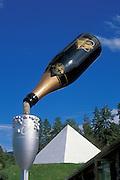 Summerhill Pyramid Winery, Okanagan Valley, British Columbia, Canada.