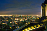 Griffith Observatory; LA; Los Angeles Calif. California CA; Skyline