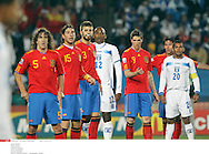 *** Local Caption *** puyol (carles)..sergio ramos..pique (gerard)..welcome (georgie)..torres (fernando)..guevara (amado)