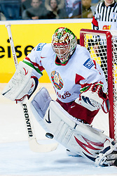 Andrei Mezin of Belarus ice-hockey match between Slovenia and Belarus of Group G in Relegation Round of IIHF 2011 World Championship Slovakia, on May 8, 2011 in Orange Arena, Bratislava, Slovakia. (Photo by Matic Klansek Velej / Sportida)