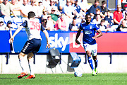 Ipswich Town Kane Vincent- Yong in action during the EFL Sky Bet League 1 match between Bolton Wanderers and Ipswich Town at the University of  Bolton Stadium, Bolton, England on 24 August 2019.