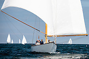 Neith sailing in the Marblehead Corinthian Classic Yacht Regatta. Photo by Cory Silken / Panerai, © Cory Silken 2016.
