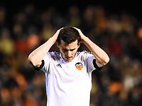 Valencia's   Pablo Piatti   during Uefa Europa League match. February 18, 2016. (ALTERPHOTOS/Javier Comos)