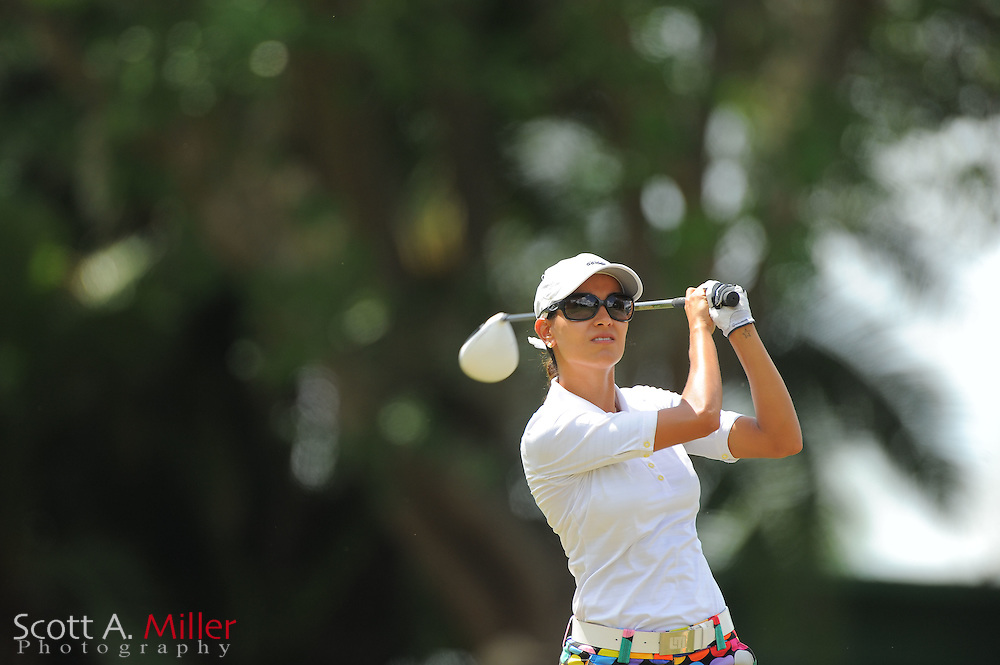 Victoria Alimonda Lovelady during the second round of the Symetra Tour's Florida's Natural Charity Classic at the Lake Region Yacht and Country Club on March 24, 2012 in Winter Haven, Fla. ..©2012 Scott A. Miller.