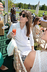 LAURA JACKSON at the St.Regis International Polo Cup at Cowdray Park, Midhurst, West Sussex on 16th May 2015.