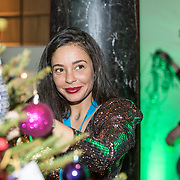 NLD/Amsterdam/20191206 - Sky Radio's Christmas Tree For Charity 2019, Fajah Lourens