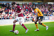 Northampton Town Striker John Marquis during the Sky Bet League 2 match between Northampton Town and Newport County at Sixfields Stadium, Northampton, England on 25 March 2016. Photo by Dennis Goodwin.