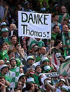 Fussball Bundesliga 2012/13: Nuernberg - Bremen
