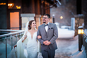 Kathleen & Kevin's sweet Cambridge Mill winter wedding