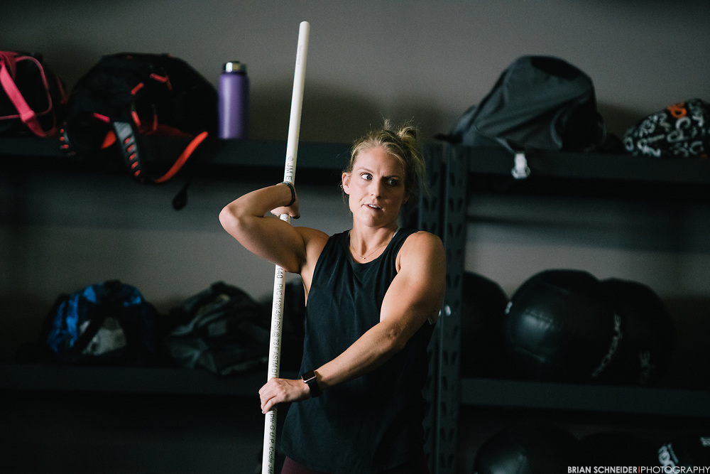 Aug 19, 2017; Baltimore, MD, USA; SEYA CrossFit owned by Mimi Washington and Luke Espe opens up with group workout classes in Highlandtown.