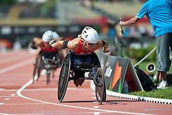 WOLF Edith, SUI, 800m, T54, 2013 IPC Athletics World Championships, Lyon, France