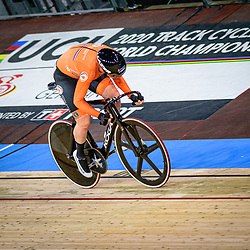 WILD Kirsten ( NED ) - Netherlands – Querformat - quer - horizontal - Landscape - Event/Veranstaltung: UCI Track Cycling World Championships 2020 – Track Cycling - World Championships - Berlin - Category/Kategorie: Cycling - Track Cycling – World Championships - Elite Women - Location/Ort: Europe – Germany - Berlin - Velodrom Berlin - Discipline: Points Race - Distance: 25 km - Date/Datum: 01.03.2020 – Sunday – Day 5 - Photographer: © Arne Mill - frontalvision.com