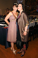 Pamela Schwartz (left) and Sara Shuster, both of Oakwood choose a 'Great Gatsby' look for the 56th Art Ball, 'Art is in the Air', at the Dayton Art Institute, Saturday, June 8, 2013.