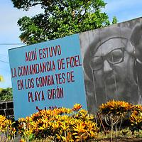 Alberto Carrera, Revolutionary propaganda, Playa Girón, Cuba, America