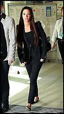 May 23 2014 Tulisa Contostavlos appearing at Chelmsford Magistrates Court
