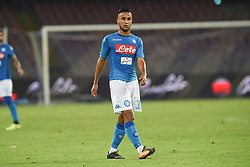 August 10, 2017 - Naples, Naples, Italy - Adam Ounas of SSC Napoli during the Pre-season Frendly match between SSC Napoli and RCD Espanyol at Stadio San Paolo Naples Italy on 10 August 2017. (Credit Image: © Franco Romano/NurPhoto via ZUMA Press)