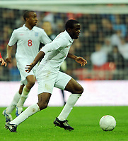 England U21/Portugal U21 European Under 21 Championship 14.11.09 <br /> Photo: Tim Parker Fotosports International<br /> Fabrice Muamba England Under 21's 2009/10