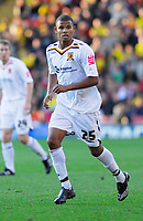 Photo: Leigh Quinnell.<br /> Watford v Hull City. Coca Cola Championship. 20/10/2007. Frazier Campbell in action for Hull.