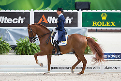 Patrick Kittel, (SWE), Watermill Scandic HBC - Grand Prix Team Competition Dressage - Alltech FEI World Equestrian Games™ 2014 - Normandy, France.<br /> © Hippo Foto Team - Leanjo de Koster<br /> 25/06/14