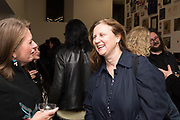 ANGELA HARTNETT, Miss Sue Webster hosts the launch of her book <br /> 'I Was a Teenage Banshee' The Mole House , Dalston. 17 October 2019