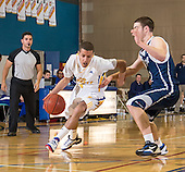 John Abbott College Mens Basketball vs Saint Foy League game