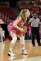 05 February 2016: Millie Stevens(12). Illinois State University Women's Redbird Basketball team hosted the Sycamores of Indiana State for a Play4 Kay game at Redbird Arena in Normal Illinois.