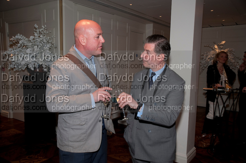 TY JEFFREYS; JEREMY HACKETT, Book launch party for the paperback of Nicky Haslam's book 'Sheer Opulence', at The Westbury Hotel. London. 21 April 2010