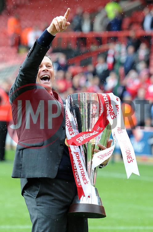 Bristol City manager, Steve Cotterill - Photo mandatory by-line: Dougie Allward/JMP - Mobile: 07966 386802 - 03/05/2015 - SPORT - Football - Bristol - Ashton Gate - Bristol City v Walsall - Sky Bet League One