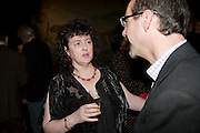 CAROL ANN DUFFY; STEPHEN DEUCHAR, Turner prize 2009. Tate Britain. Millbank. London. 7 December 2009