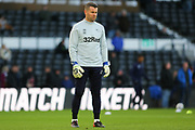 Derby County goalkeeping coach Shay Given during the EFL Sky Bet Championship match between Derby County and Millwall at the Pride Park, Derby, England on 14 December 2019.